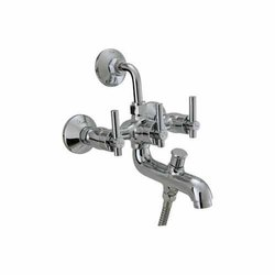 Modern Parryware Ultra Three In One Wall Mixer for Bathroom Fittings, Packaging Type: Box