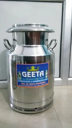 Milk Dairy Equipments - Aluminum Milk Can 40lit Manufacturer from