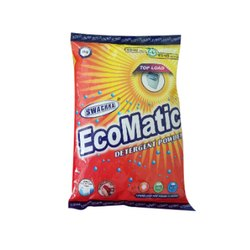 Lemon White Swachha Ecomatic Detergent Powder, Packaging Type: Packet, Packaging Size: 1 Kg