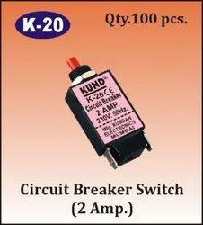 K-20 Circuit Breaker Switch - 2A