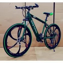 BH27 Green Foldable Cycle