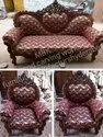 Modern Brown King Size Sofa Set