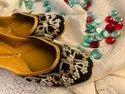 Zardosi Party Wear Punjabi Juttis
