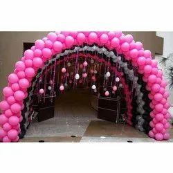 Pink Balloon Decoration Service