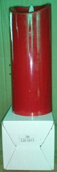 LD-3415 LED Pillar Candle Red 1 Pc
