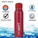 Probott Stainless Steel Double Wall Vacuum Flask Sports Bottle 600ml PB 600-01