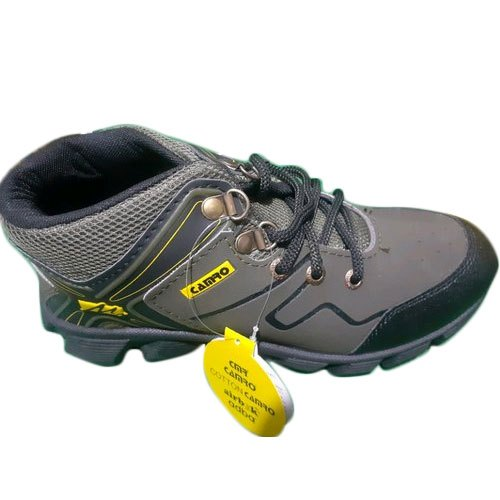 Rexine Grey Boys Cross Training Shoes