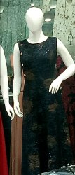 Black Colour Ladies Partys Wear