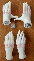 Plastic Mannequin Fingers