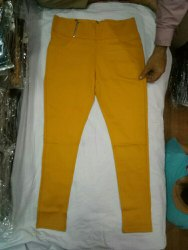 Zipper and Button Ladies Jeans