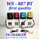 WS 887 BT Bluetooth Mini Music Speaker