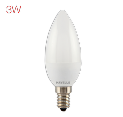 Havells Adore LED 3 W Candle Bulb, 5 W and Below