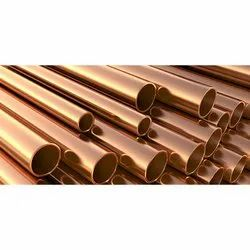 Copper Round Pipes, Thickness: 0.27 mm to 12 mm
