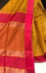Festive Wear Maheshwari Silk Saree
