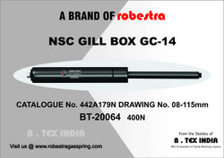 Gas Spring (For Worsted Plant- NSC Gill Box)