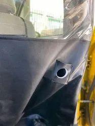 Transparent Plastic Car Partition, For Social Distancing, Size: Customizable