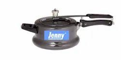 Black Aluminium Jenny Handi-Iiner Lid Nonstick/Hard-Anodized Pressure Cooker