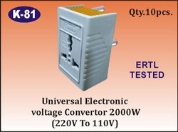 K-81 Universal Electronic Voltage Converter