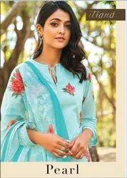 Itrana Pearl Digitsl Print With Embroidery Beautifull Design Salwar Kameez Surat