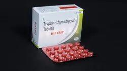 Trypsin-Chymotypsin 100000 I.U. Tablets