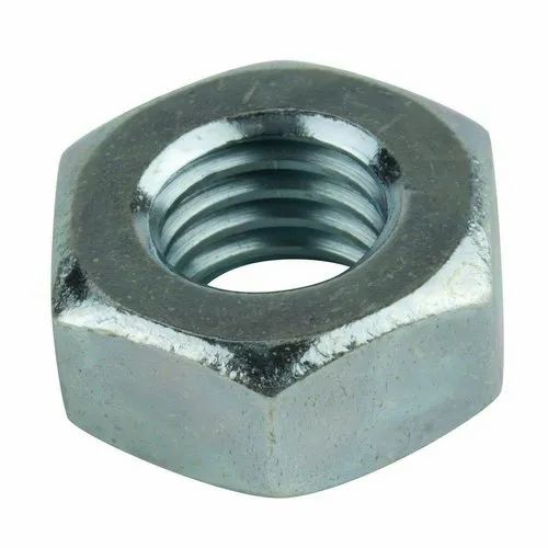 Zinc Plated Stainless Steel Hex Nut