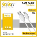 White Type C Power Bank Cable