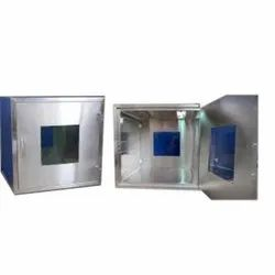 Square Polished Stainless Steel Panel Box