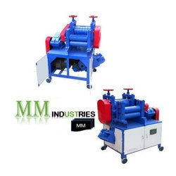 Scrap Re-Bar Straightening Machine