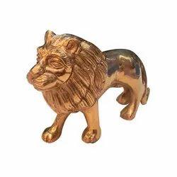 Vastu Brass Lion