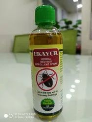 Liquid Ekayur Herbal Bed Bug Repellent Spray, Packaging Type: 100 ML Bottle