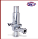 Stainless Steel Sanitary Pressure Relief Valve