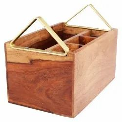 Cutlery Stand - Wooden