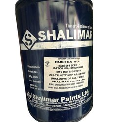 High Gloss Shalimar Rustex Emulsion Paint, Packaging Type: Tin