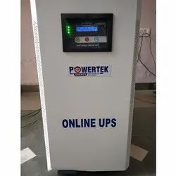 Single Phase Online Ups 5 KVA Constant Voltage Constant Frequency, Smf, Model No.: PTK-5000