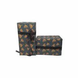 Handmade Dark Grey Gift Wrap Paper
