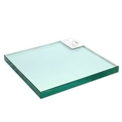Transparent Square Glass Sheet, 1-10mm