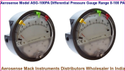 Aerosense Model ASG-100PA Differential Pressure Gauge Range 0-100 PA