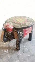 Wooden Elephant Stool, For Restaurant, 10