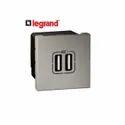 2 Amp Legrand Arteor Modular Switch, 230 V, Switch Size: 1 Module