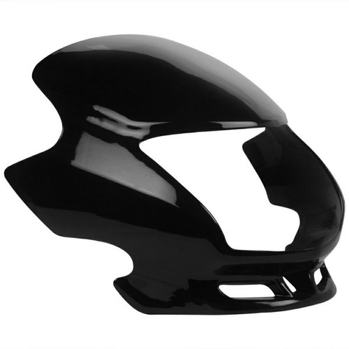 Black Fiber Dream Yuga Headlight Visor Rs 120 Piece Farha Industries Id 20786331555