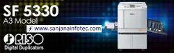 Riso Digital Duplicators SF 5330 Machine Service, Repair