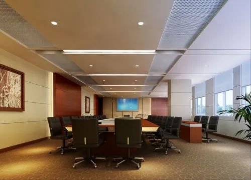 Gypsum Conference Room False Ceiling Thickness 12 Mm Rs 60 Square Feet Id 20675190212