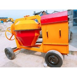 6 To 8 Hp Mini Concrete Mixer, Drum Capacity: 500 L