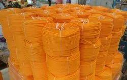 Orange HDPE Ropes