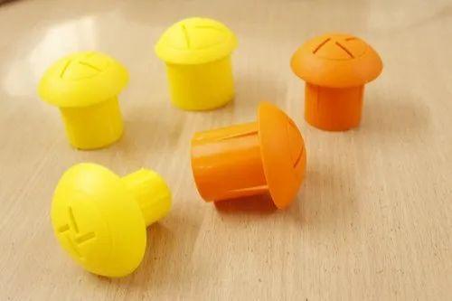 TMT Rebar Cap (Safety Mushroom Plastic Caps)