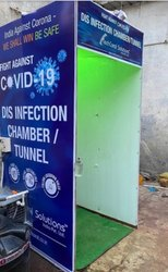 Corona disinfection tunnel