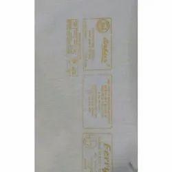 White Plain Mixed Inner Lining Fabric