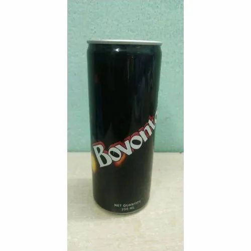 Cola 250 ML Bovonto Soft Drink, Packaging Type: Can, Liquid