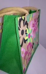 Handled Brown Jute Carry Bags, For Shopping