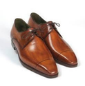 Lace Up Brown Men Leather Shoes, Size: 6-11